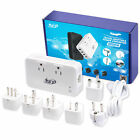 EU Euro Travel Plug Adapters & Voltage Converters without Custom Bundle