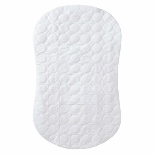 Halo Bassinest Swivel Sleeper Mattress Pad Waterproof Polyester, White