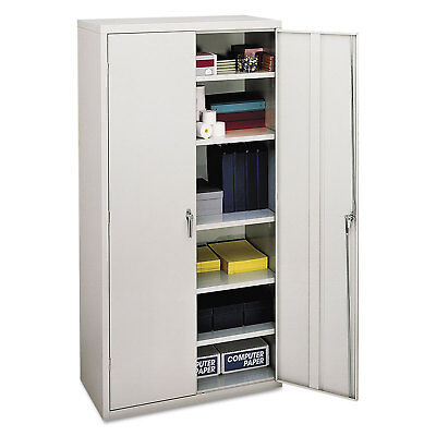 Hon Assembled Storage Cabinet 36w X 18-14d X 71-34h Light Gray Sc1872q