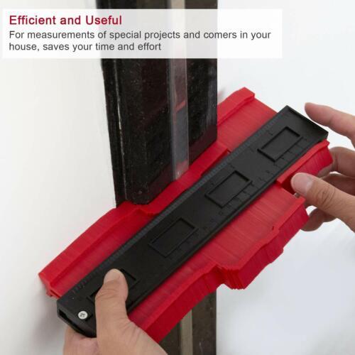 Jauge de Copie de Profil En Plastique Jauge de Contour Duplicateur Norme Out 6C1