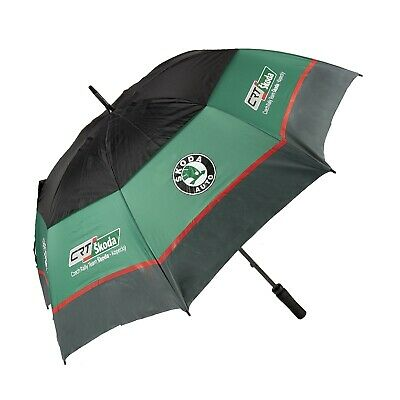 UMBRELLA Large Golf SKODA Auto Czech Rally Team-Kopecky NEW! Full Size Rallye