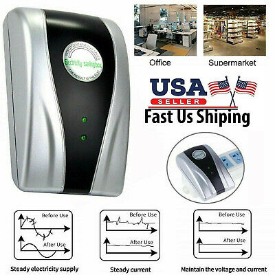 Power Saver Household Electric Energy Saving Box US Plug Home Device 90V-250V