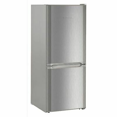 Liebherr CUel2331 Fridge Freezer 60/40 Frost Free 55cm, Stainless Steel
