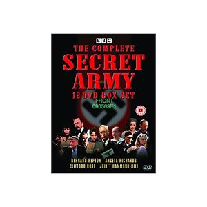 Secret Army - Series 1-3 (NEW & SEALED DVD, 2010, Box Set)
