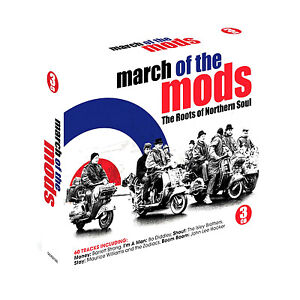 MARCH OF THE MODS THE ROOTS OF NORTHERN SOUL NEW 3 CD 60 TRACKS * ORIGINALS *