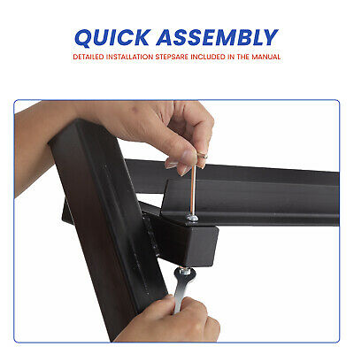 Dumbbell Rack 3 Tier Solid Steel Rack Weight Holder 660lbs Capacity Quick Assemb Fitness, Running & Yoga