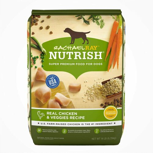 Rachael Ray Nutrish Chicken and Veggies Recipe Dry Dog Food - 40lbs