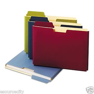 Globe-Weis - Expanding File Folder Pocket, Letter, Assorted - 10 ct.