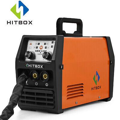 Hitbox Mig Welder 220v Lift Tig Arc Mig Inverter Flux Core Wire Gasless Welding