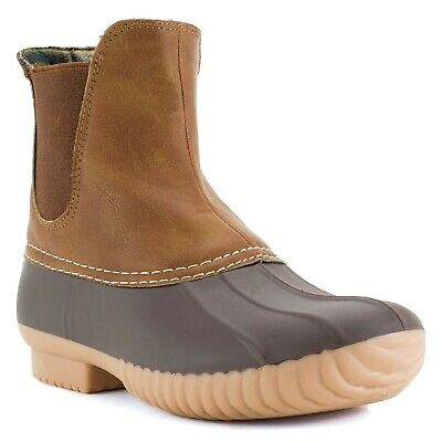 """Avanti Women's Rocky Rain Boots -Faux Suede Duck Boots 1/2"""""""