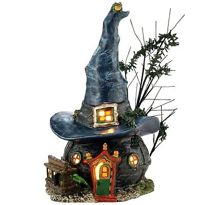Department 56 Snow Village Halloween Witch Hollow Toads and Frogs Witchcraft ...