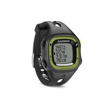 Garmin Forerunner 15 GPS Fitness Sport Watch - Small - Black/Green 010-01241-20