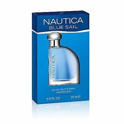 New Men's Nautica Blue Sail EDT Spray 0.5 Fl oz (Retail Box)