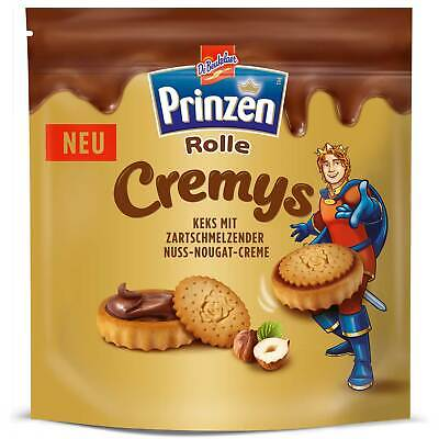 Prinzen Rolle Cremys 172g - Chocolate Cookies - Sweets from Germany Chocolate Roll Cookies