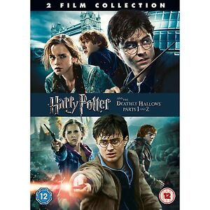 Harry Potter And The Deathly Hallows Parts 1&2 [DVD] [2011]  BRAND NEW UK