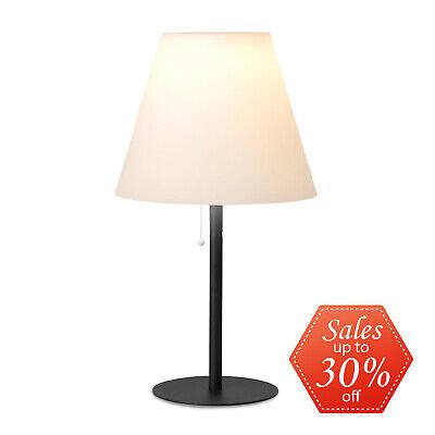 [B-Stock] Solar Table Lamp Lampshade Garden Light Lantern Outdoor Lamp Post