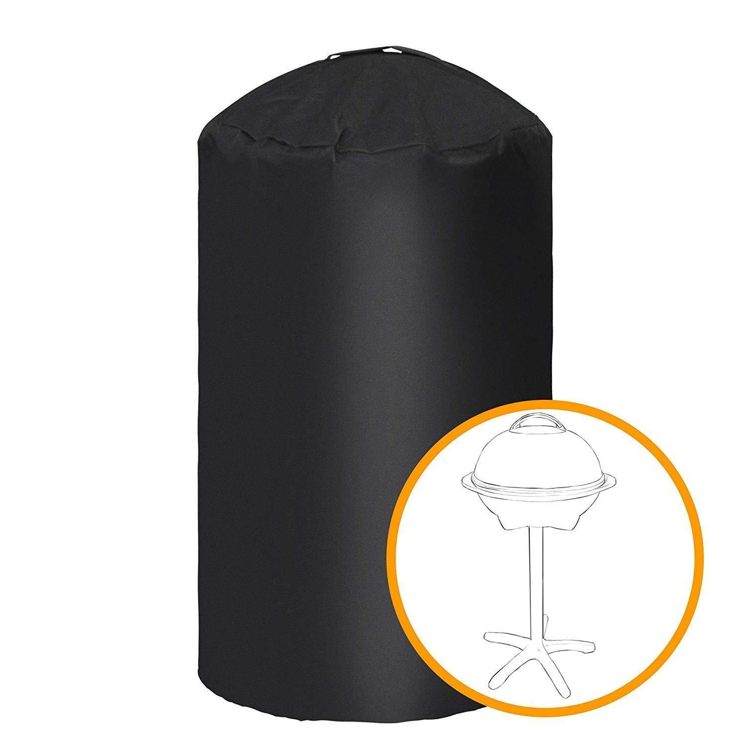 iCOVER Round Dome BBQ Smoker Grill Cover For George Foreman