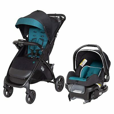 Baby Trend Tango Lightweight Infant Car Seat Stroller Travel System, Veridian