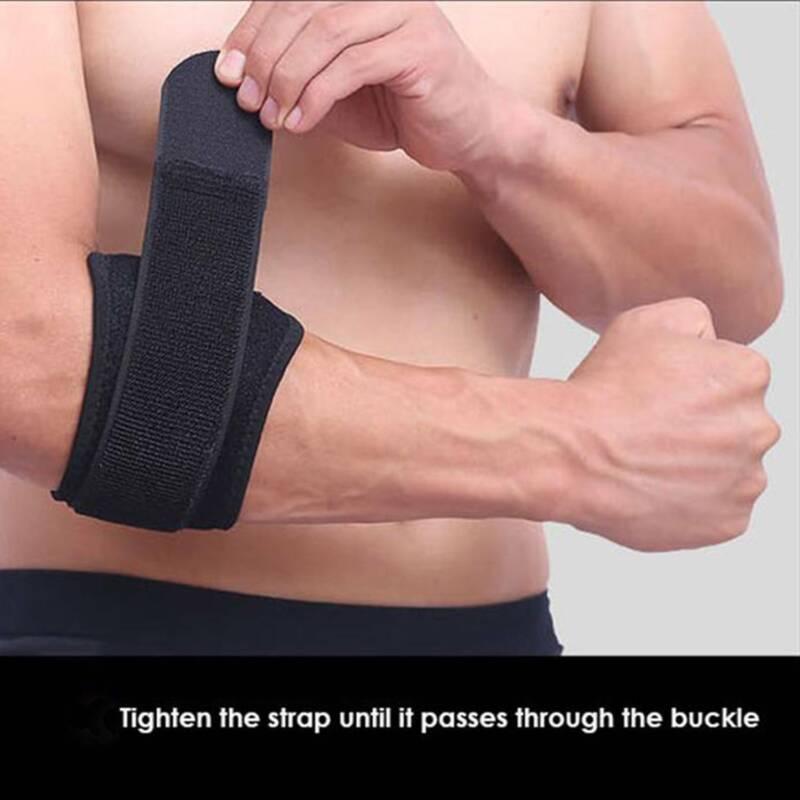 Tennis Elbow Brace Pad Golfers Strap Tendonitis Pain Relief