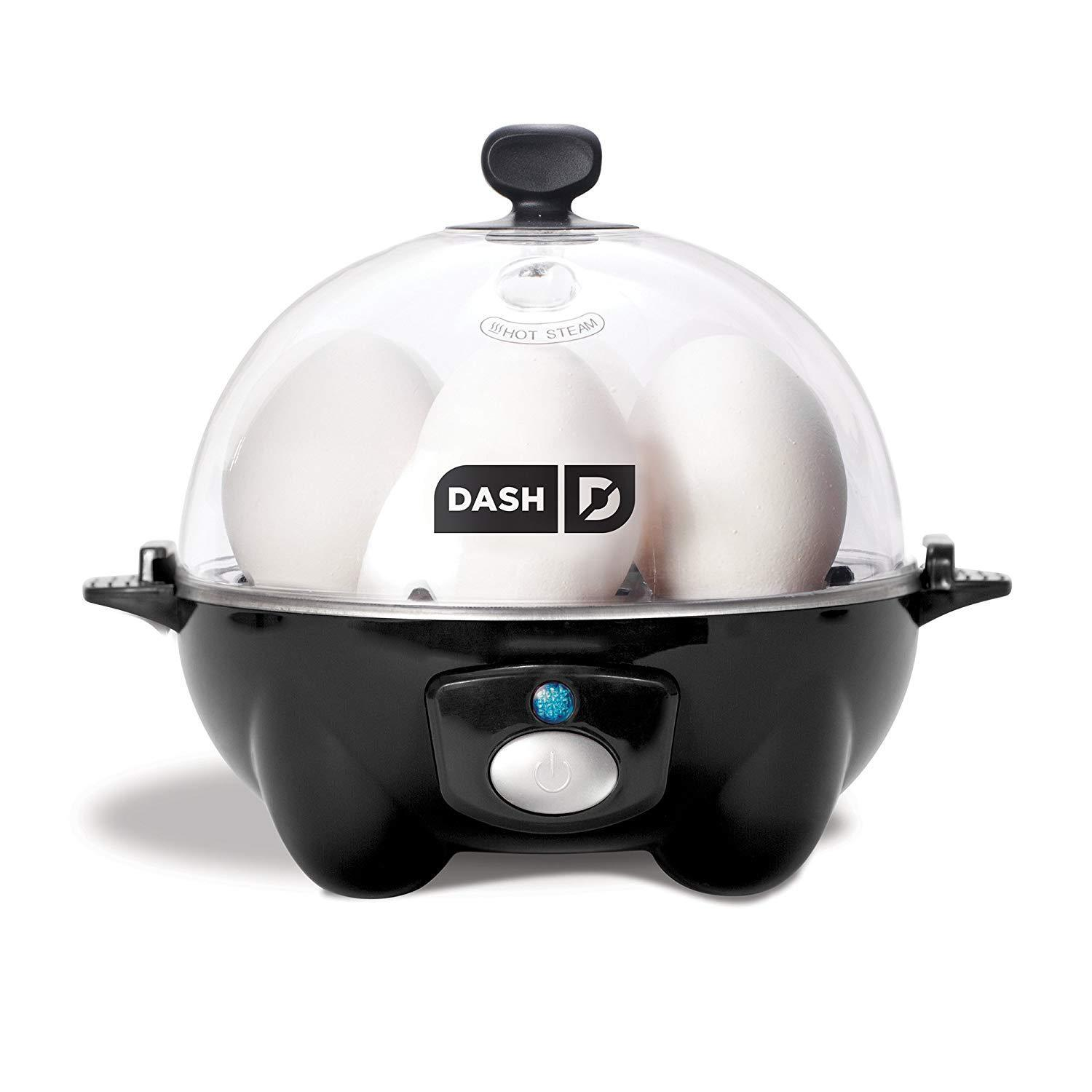 Egg Cooker Electric DASH Poacher 6 Eggs Steamer Rapid Automa