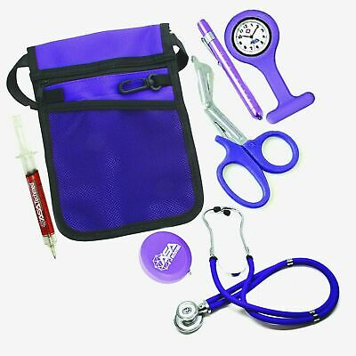 Christmas Gifts For Nurse Kit Starter Stethoscope Pouch Penlight Scissors Watch
