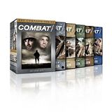 Combat! The Complete Series DVD Seasons 1,2,3,4,5 Disc Box Set New & Sealed