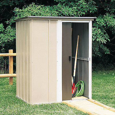 OUTDOOR STORAGE SHED Metal Steel Garden Utility Backyard Lawn Building Garage