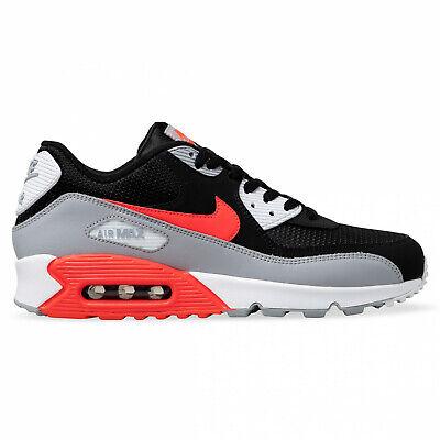 Nike Air Max 90 Essential, Gris con rojo (Air Max 90 Wholesale)