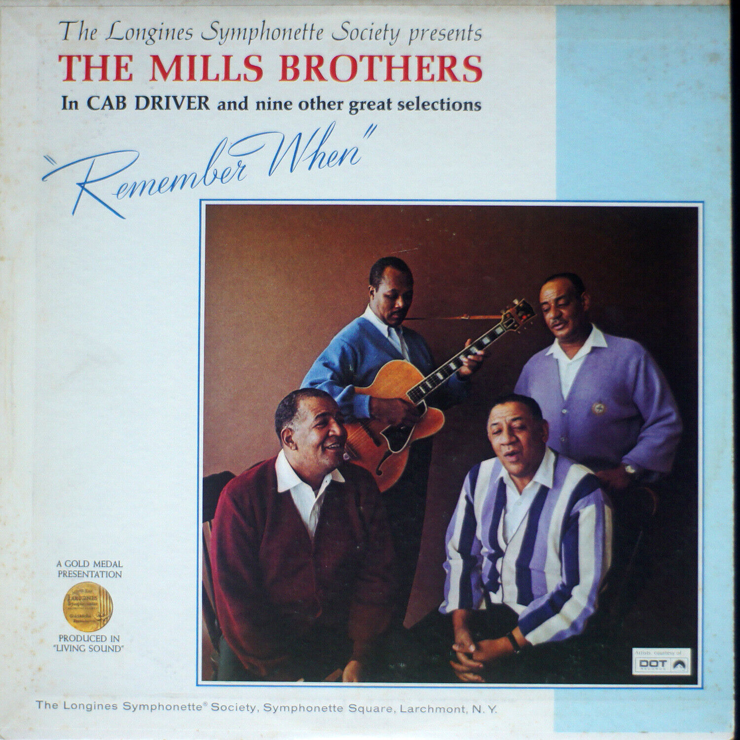 The Mills Brothers - Remember When NM/EX 05-0882 Vinyl LP - $17.00