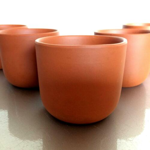 Chinesische Teeschalen 5,7 cm für Teeservice TONKERAMIK für Zeremonie (a49)