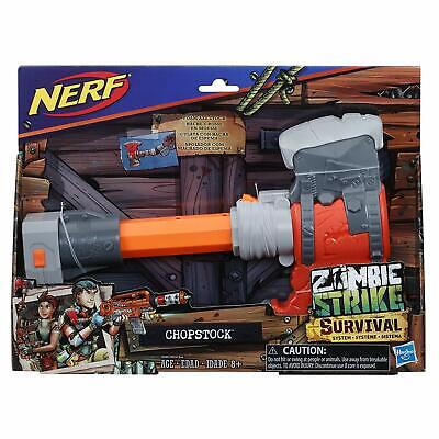 Nerf Zombie Strike Survival System Chopstock Hasbro Kids Toy Gun  Brand NEW
