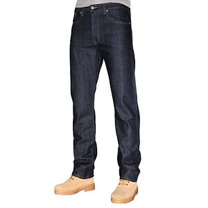 New Levis 506 Men Comfort Fit Denim Jeans - Tapered Leg-Dark Rinsed Indigo