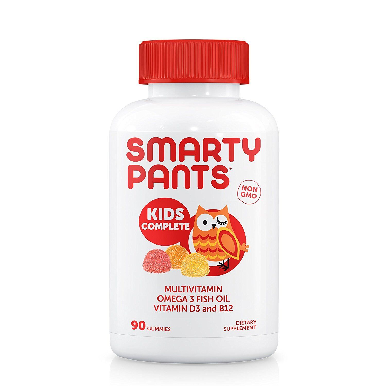 SmartyPants Gummy Vitamins Complete Kids Vitamins, 90 Count