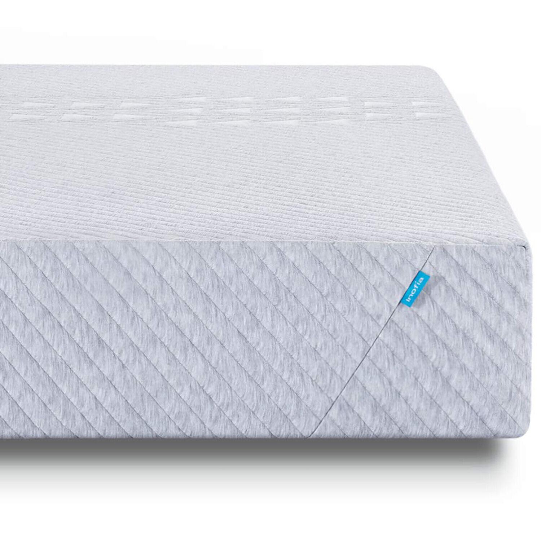 "Inofia 8"" Soft Memory Foam Matress 3 Layers Sleep Cooler Pre"