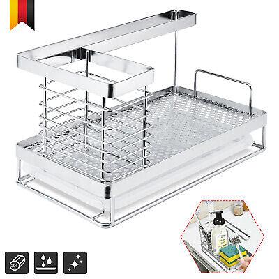 Spülbecken für Küche Caddy Küchenutensilienhalter Ordnungshelfer Organizer DHL