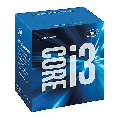 Intel Core i3-6100 3M 3.7 GHz LGA 1151 BX80662I36100 Desktop Processor