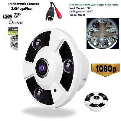 1 3Mp 2 0Mp Poe Panoramic Ir Fisheye 360 Degree Ip Dome Camera Onvif  Indoor Eko
