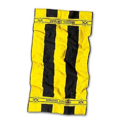 "BVB Borussia Dortmund Duschtuch ""  Blockstreifen  ""  70 x 140 cm"