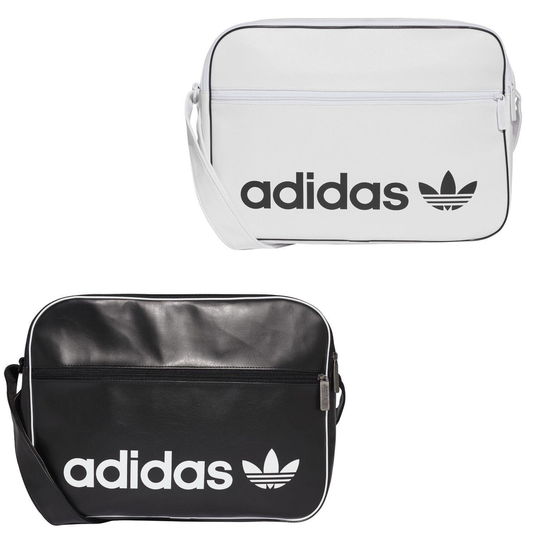 c0929adf5902 adidas Messenger Bag Airliner Vintage Schultertasche Umhängetasche Damen  schwarz*