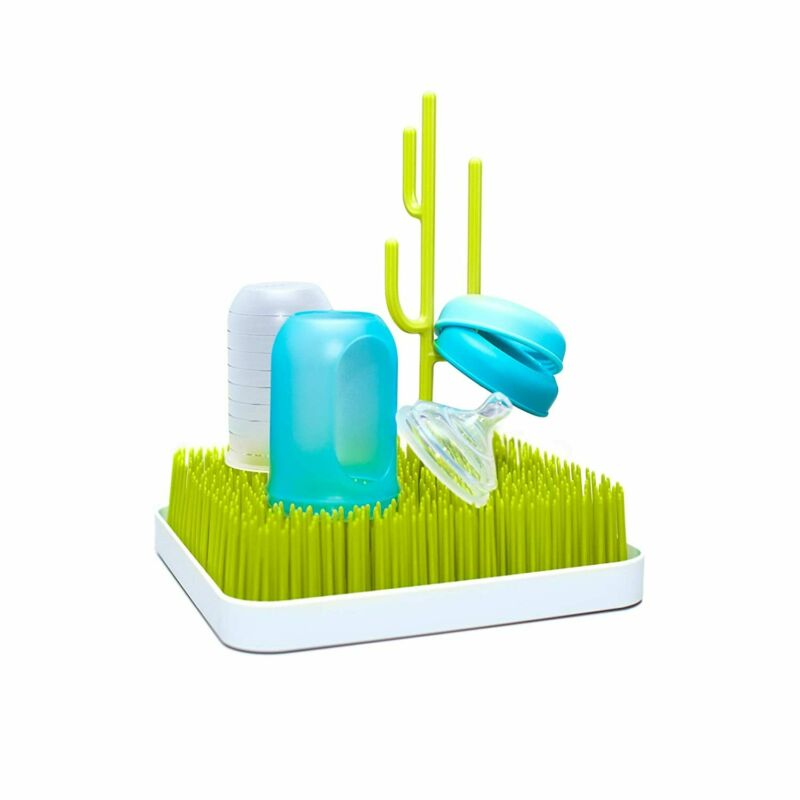 Boon Grass Countertop Baby Bottle Drying Rack, Green
