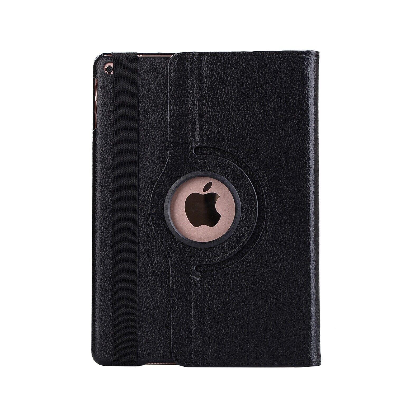 Apple iPad 5 | 6 Generation Air 1+2 9.7 360° Cover Case Tablet Hülle schwarz