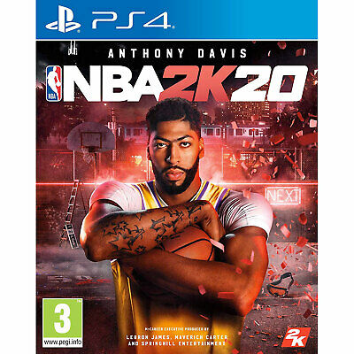 NBA 2K20 PS4 PLAYSTATION Basketball New and Sealed