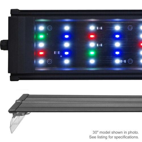 Beamswork DA Full Spectrum LED Aquarium Fish Light Multi Color 20 24 30 36 48 72