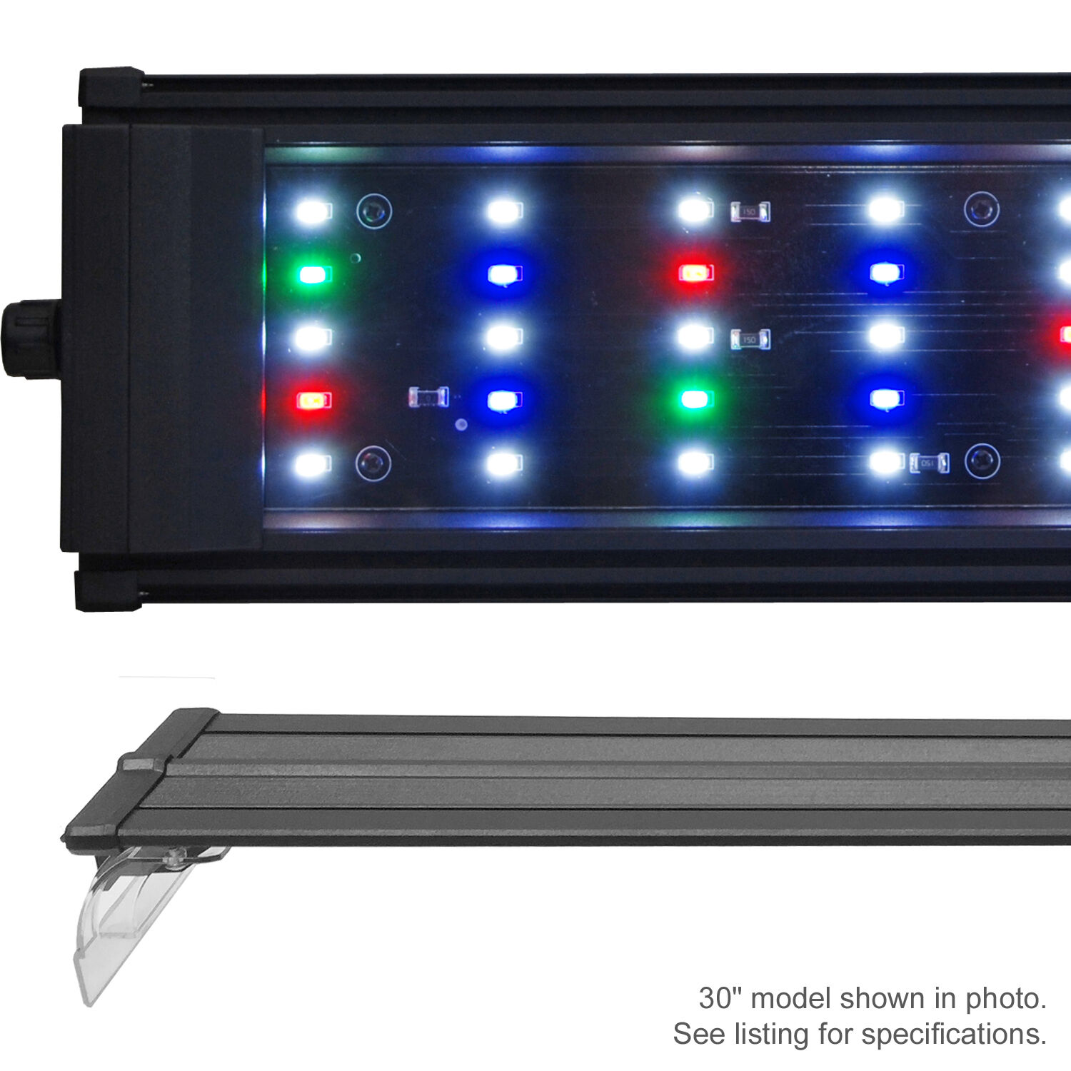 beamswork da fspec led aquarium light freshwater full spectrum 24 30 36 48 72 ebay. Black Bedroom Furniture Sets. Home Design Ideas