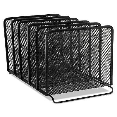 Desk Organizer With 3-tier Letter File Tray And 5 Stacking Sorter Sectionmesh
