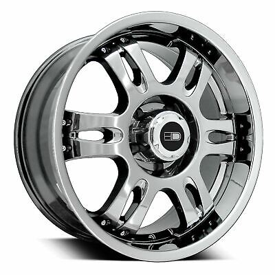 HD Off-Road Wheels TROPHY 20x9 Rims 6x139.7 / 6x5.50 0mm Bright Chrome *SALE*
