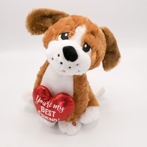 Gemmy Valentine Animated Singing Dog VIDEO Sings You