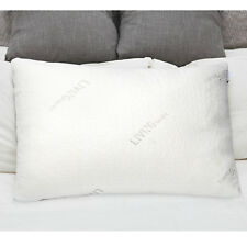 Shredded Memory Foam Pillow W/ washable removable cooling cover-Standard size