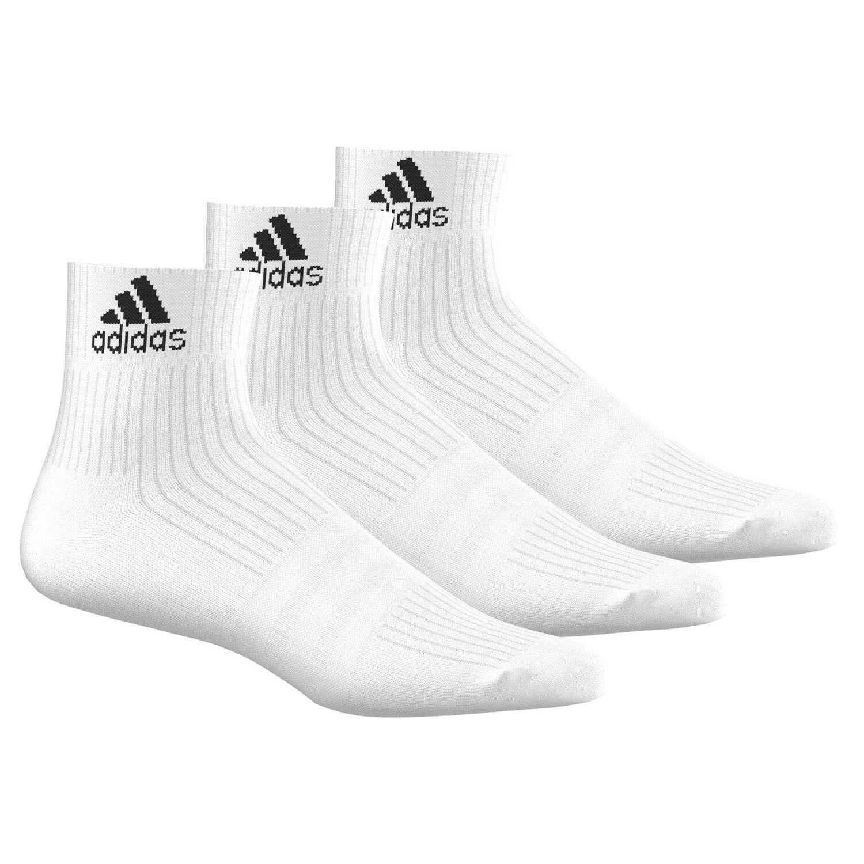 adidas 3-Stripe Performance Knöchelsocken 3 Paar Sneakersocken Sport Freizeit