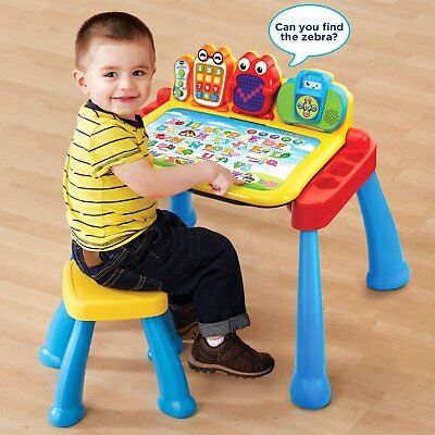 Activity Play Set Touch Learn Interactive Kids Toddler Learning Baby Stand Toys